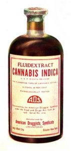 cannabis tinctures drug bottle