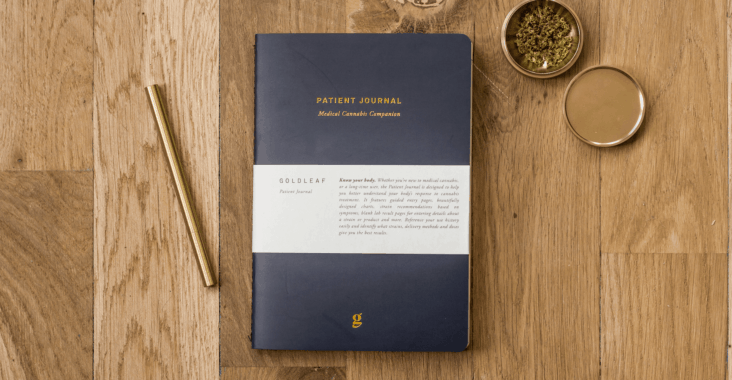 cannabis journals goldleaf